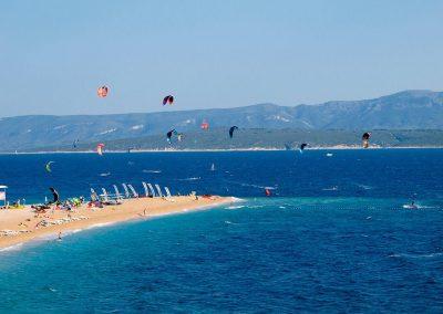 Kite surfing Zlatni rat beach